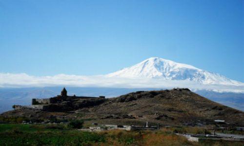 Zdjęcie ARMENIA / - / Khor Virap / Klasztor Khor Virap