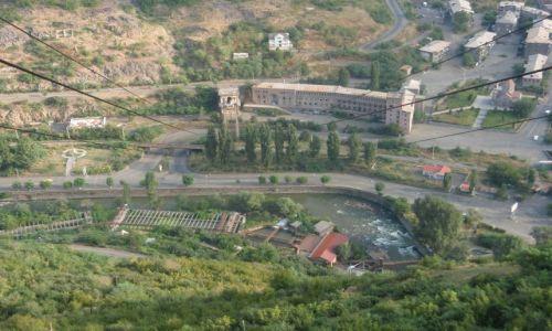 Zdjecie ARMENIA / prowincja Lori / miedziowe Alawerdi / radziecka gondolka