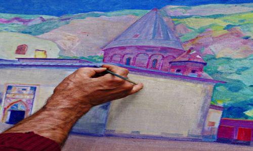 Zdjecie ARMENIA / Kotaik / Geghard / Geghard malowany