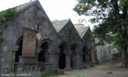 ARMENIA / północna Armenia / Sanakhin / Monastyr niedaleko Alaverdi