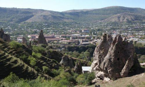 Zdjęcie ARMENIA / Sjunik / Stare Goris / Skalne miasto w Goris