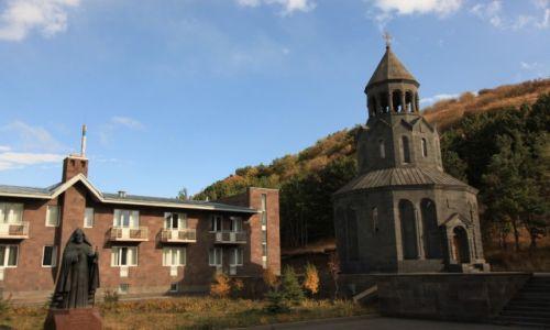 Zdjęcie ARMENIA / Gegharkunik / Sevan / Klasztor nad jeziorem Sevan