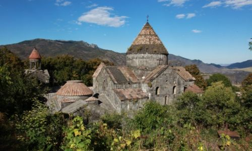 ARMENIA / Alaverdi / Sanahin / Klasztor Sw. Astvasantsin