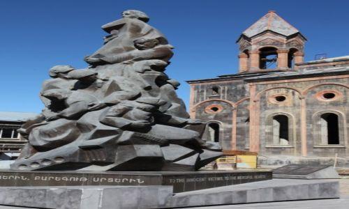 ARMENIA / Shirak / Gyumri / Pamięci ofiar trzęsienia ziemi z 1988r