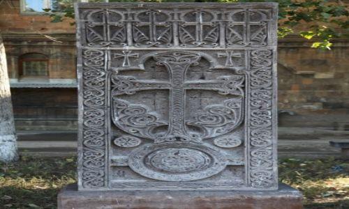 ARMENIA / Shirak / Gyumri / Ormiańskie krzyże