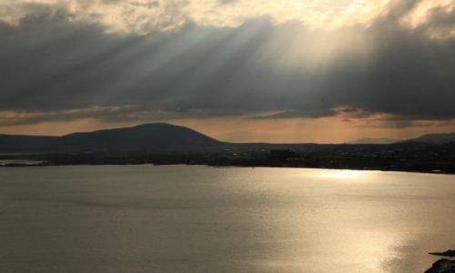Zdjęcie ARMENIA / Gegharkunik / Sevan / Słońce nad jeziorem