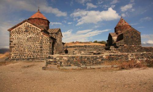 Zdjęcie ARMENIA / Gegharkunik / Sevan / Klasztor Sewanawank