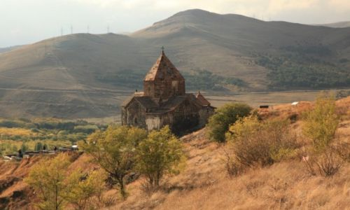 Zdjęcie ARMENIA / Gegharkunik / Pólwysep Sevan / Sevanavank