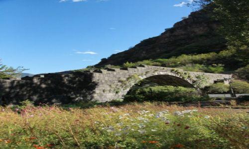 ARMENIA / Alaverdi / Debed / Kamienny mostTamary z XII w