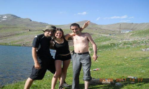 ARMENIA / Aragac / jezioro Kari Licz / Serdeczni ludzie w Armenii