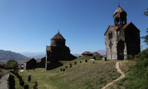 Zdjęcie ARMENIA / Alaverdi / Haghpat / Klasztor w Haghpat
