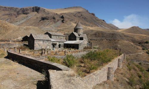 Zdjęcie ARMENIA / Sjunik / Worotnawank / Warowny klasztor