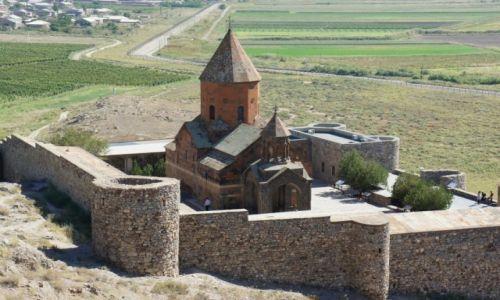 Zdjęcie ARMENIA / Ararat  / Chor Wirap / Klasztor Chor Wirap