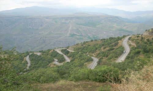 Zdjecie ARMENIA / brak / Goris / dróżka do Iranu