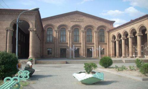 Zdjecie ARMENIA / brak / Eczmiadzyn tzw. ormianski Watykan / Teatrzyk :)