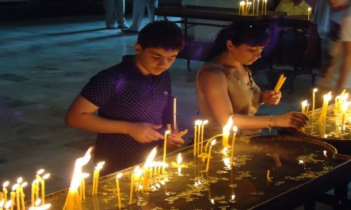 Zdjęcie ARMENIA / Armawir / Eczmiadzyn (Wagharszapat) / W ormiańskiej Częstochowie (2)