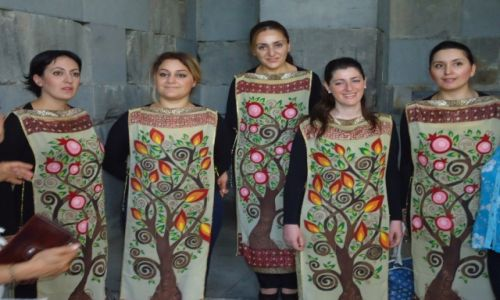Zdjecie ARMENIA / Kotajk / Garni / Chór