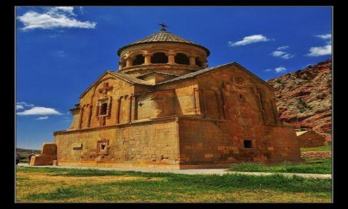 Zdjęcie ARMENIA / Dolina rzeki Amaghu, prowincja Vayots Dzor / Noravank / Wieża