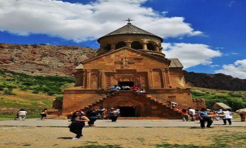 Zdjęcie ARMENIA / prowincja Wajoc Dzor / Noravank / Klasztor Noravank