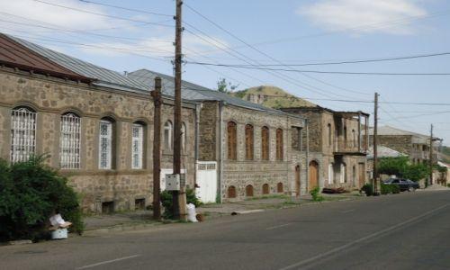 Zdjęcie ARMENIA / Sjunik / Goris / Zabudowa Goris