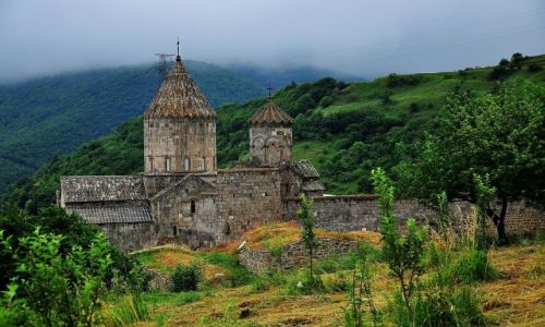 Zdjęcie ARMENIA / prowincja Syunik / wioska Tatev / Klasztor Tatev