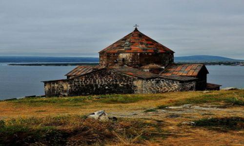 Zdjęcie ARMENIA / prowincja Gegharkunik / obok miasta Sevan / Sevanavank