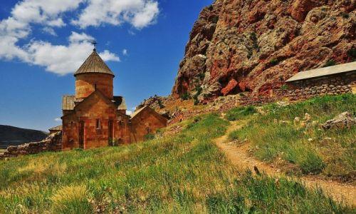 Zdjęcie ARMENIA / prowincja Vajoc Dzor / klasztor Noravank / Klasztor