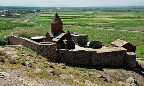 Zdjęcie ARMENIA / dolina Araratu / Pokr Vedi / Głęboka studnia