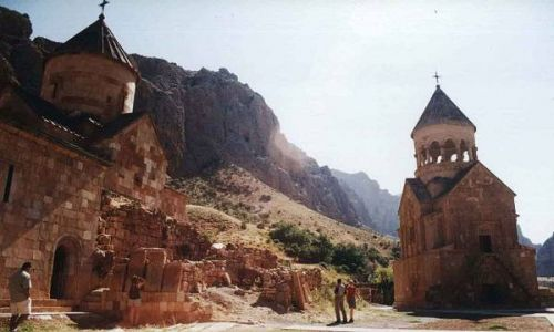 Zdjecie ARMENIA / brak / Norvank k. Yegegnadzor / Klasztor Norava