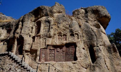 Zdjęcie ARMENIA / prowincja Kotajk / Geghard / kaplica Grzegorza Oświeciciela