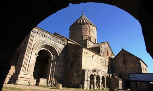 Zdjecie ARMENIA /  Sjunik / Kanion rzeki Vorotan / Klasztor Tatew