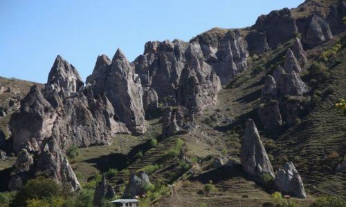 Zdjęcie ARMENIA / Sjunik / Stare Goris / Skalne miasto