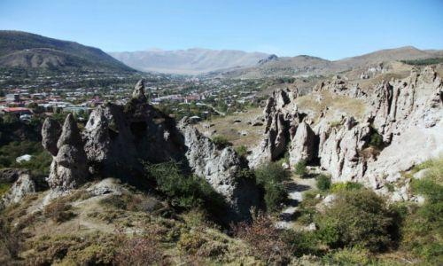 Zdjęcie ARMENIA / Sjunik / Stare Goris / Widok na Goris