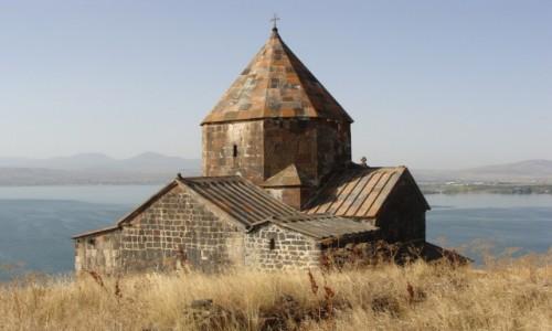 Zdjecie ARMENIA / - / Sevanavank nad jez. Sevan / Klasztor Sevanavank