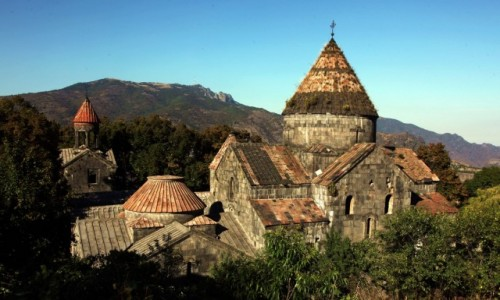 Zdjęcie ARMENIA / Lori Marz / Sanahin  / Klasztor z X w.