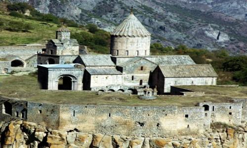 Zdjęcie ARMENIA / Sjunik / Tatev  /  Klasztor z IX wieku