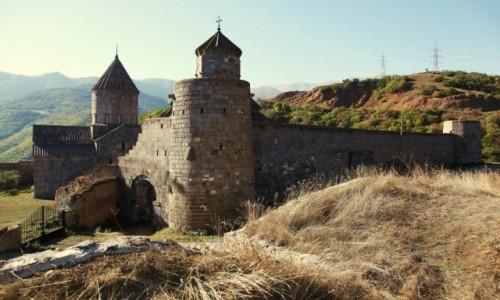 Zdjęcie ARMENIA / Sjunik / Tatev  / Klasztor-twierdza