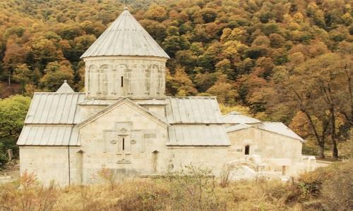 Zdjęcie ARMENIA / Tawush - Diliżan  / Klasztor w Hagarcin / Pastelowo