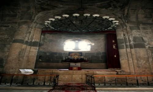 Zdjęcie ARMENIA / Tawush - Diliżan  / Klasztor w Hagarcin / Ołtarz