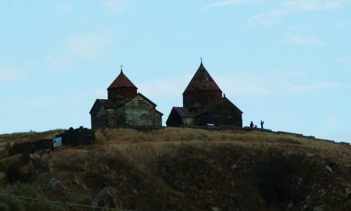 Zdjęcie ARMENIA / Gegharkunik / Sevan / Klasztor na wzgórzu