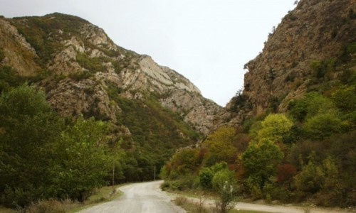 Zdjęcie ARMENIA / Vajots Dzor / Noravank  /  W drodze do klasztoru Noravank