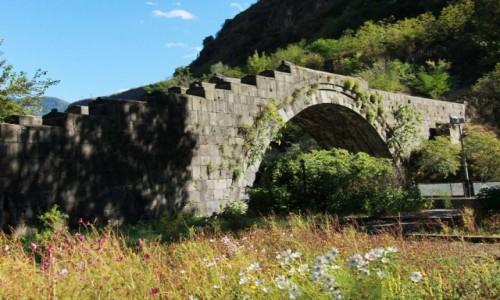 Zdjecie ARMENIA / Lori Marz / Alaverdi / Most łukowy z XII w.