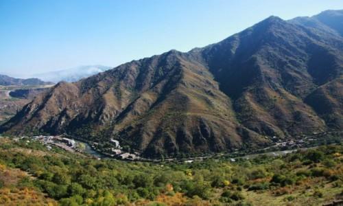 Zdjecie ARMENIA / Lori Marz / Alaverdi / Ściana kanionu