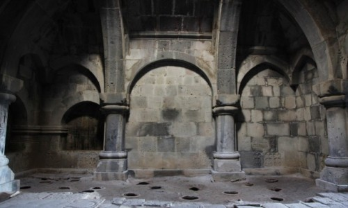 Zdjęcie ARMENIA / Alaverdi / Klasztor w Haghpat / Biblioteka