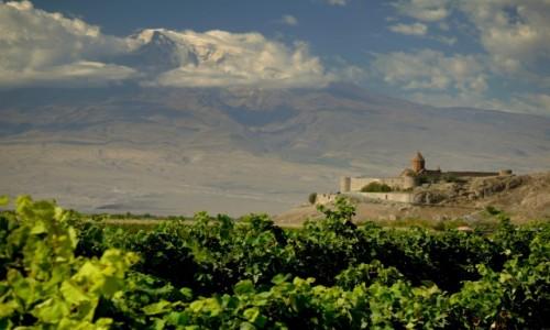Zdjecie ARMENIA / Ararat / Khor Virap / Z widokiem na A
