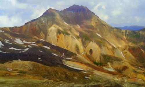 ARMENIA / Aragacotn / Aragac / Krajobraz wulkaniczny