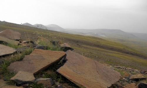 Zdjecie ARMENIA / Aragacotn / Aragac / na dach Armenii