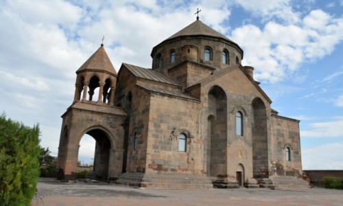 Zdjecie ARMENIA / Armavir / Vagharshapat / Kościół św.Hripsime