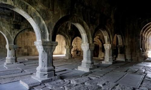 Zdjecie ARMENIA / Lori / Sanahin / Monaster Sanahin, narteks