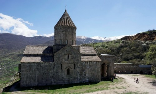 Zdjecie ARMENIA / Sjunik / Tatew / Monaster Tatew